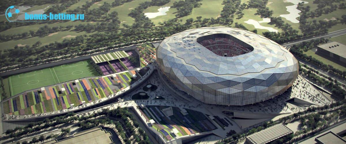 Стадион в Образовательном городе