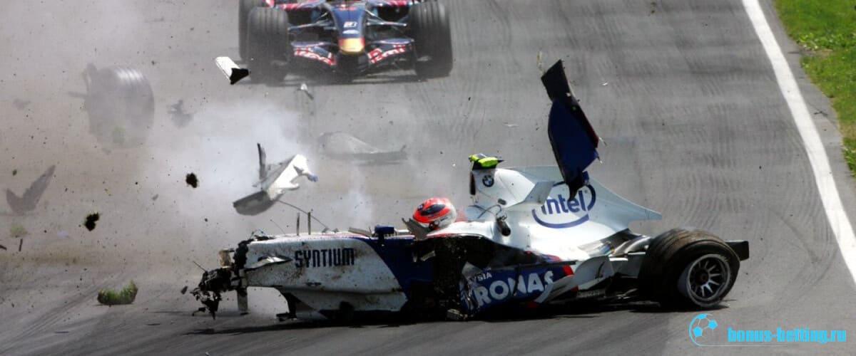 Авария Формула-1