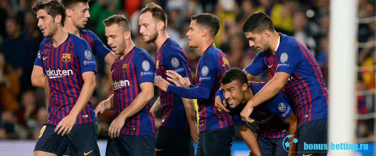 Обзор матча Лион – Барселона