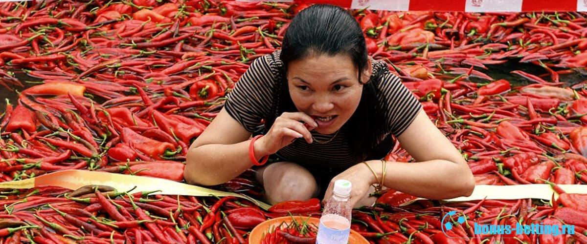 соревнования по поеданию перца
