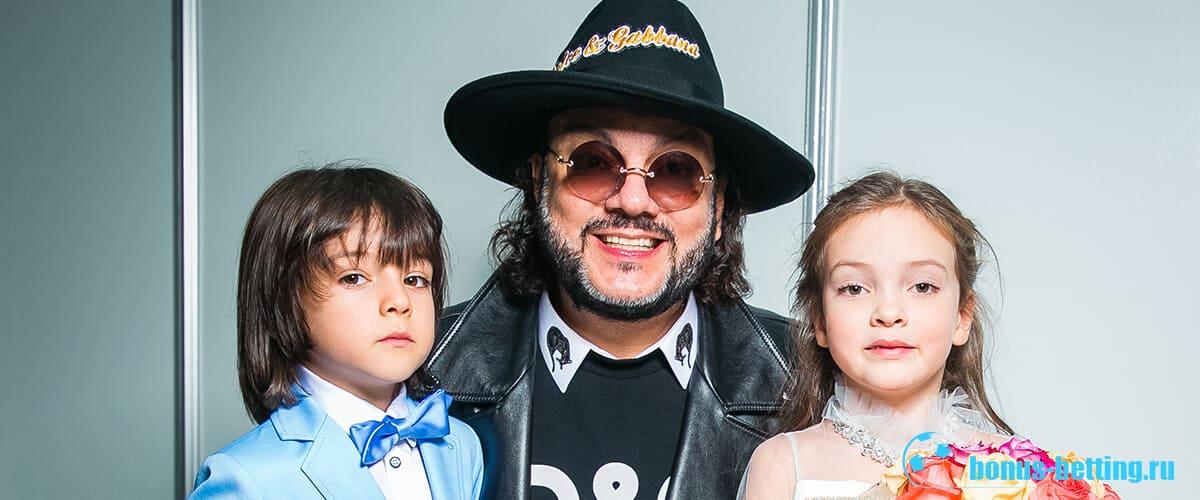 Киркоров со своими детьми