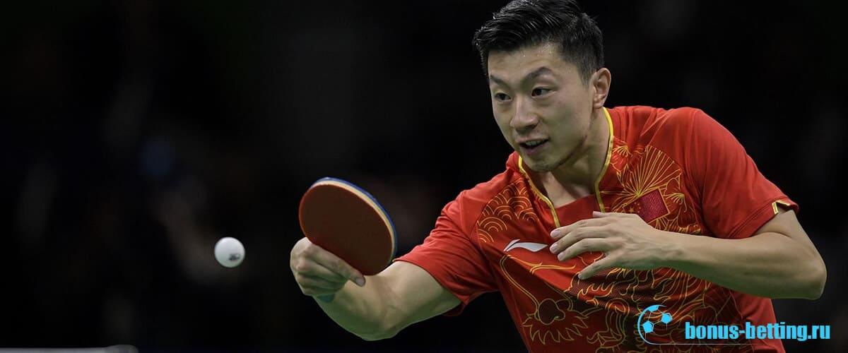 Китайский спортсмен