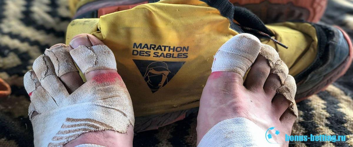 Marathon des Sables травмы