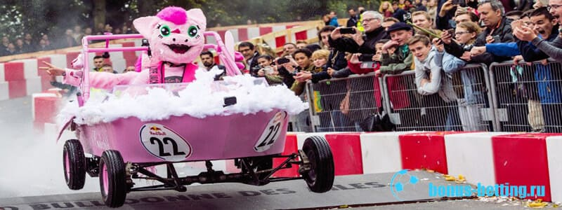 Red Bull Soapbox гонка на тарантасах