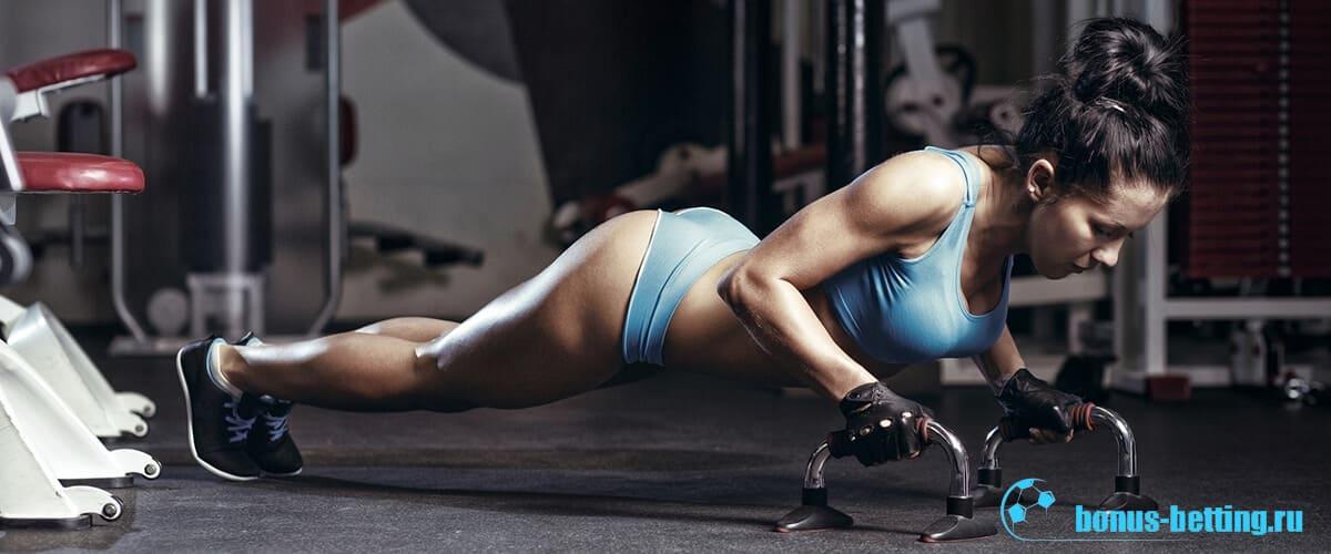 CrossFit девушка