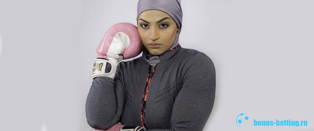 первая иранская женщина боксер