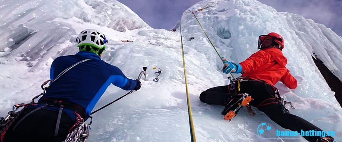 Лед и горы