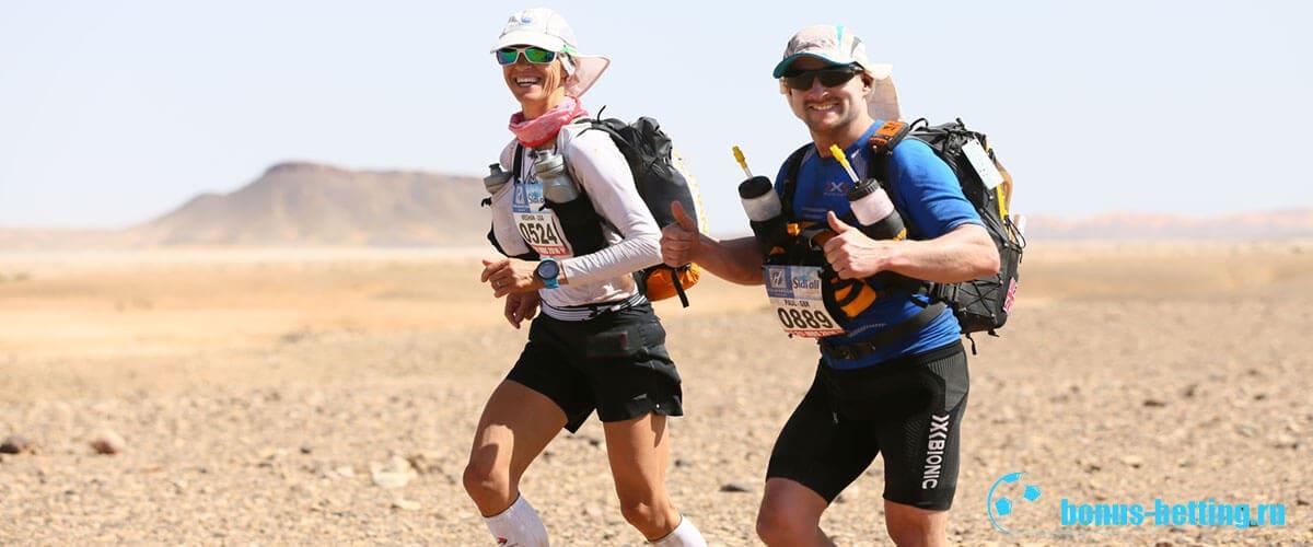 Marathon des Sables рюкзак