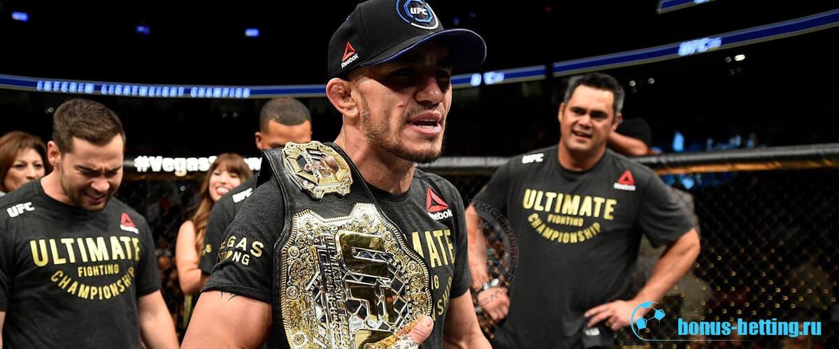 Пояс чемпиона UFC