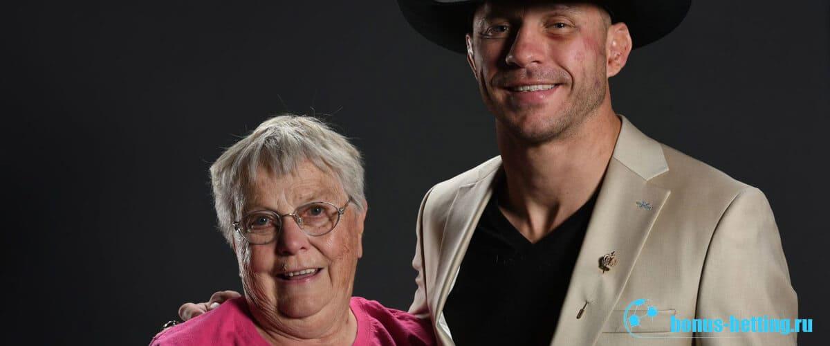 дональд серроне и бабушка