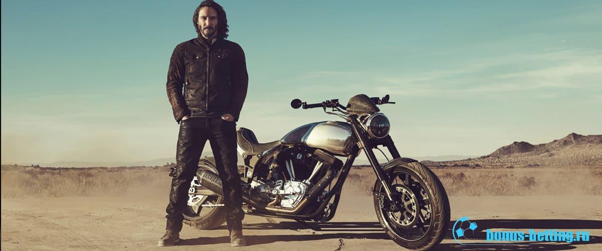 мотоциклы киану ривза