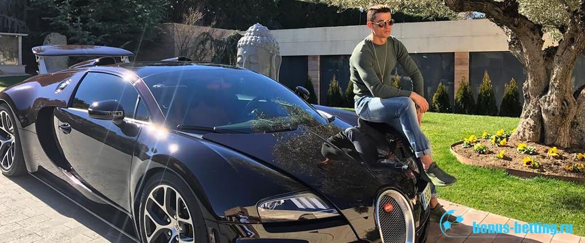 CR7 и его Bugatti
