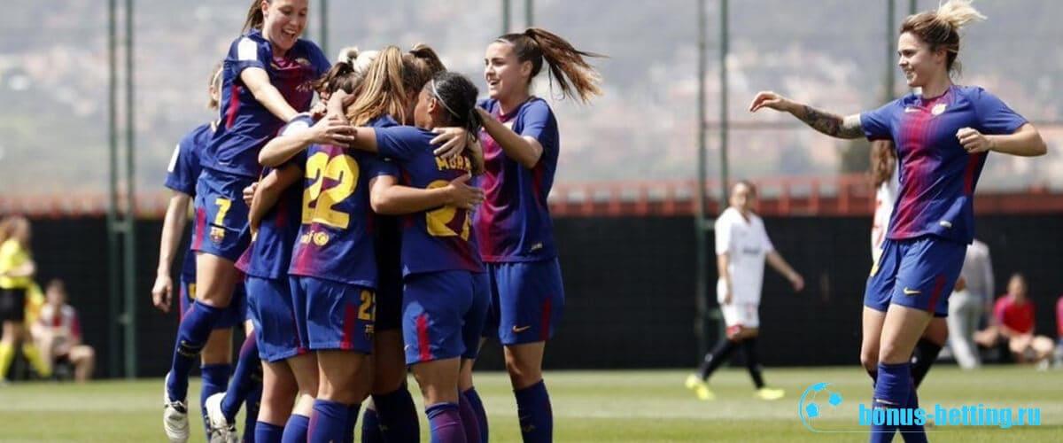 Женский состав Барселоны