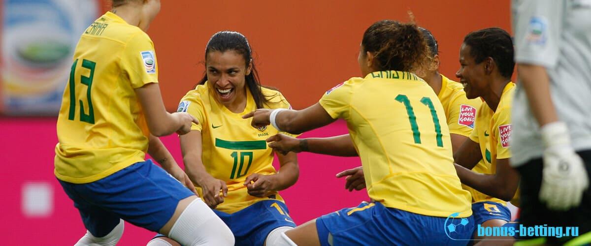 женщины в футболе 2019