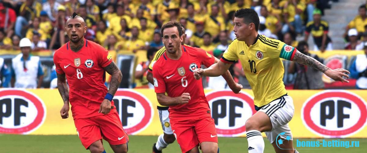 Колумбия – Чили: прогноз