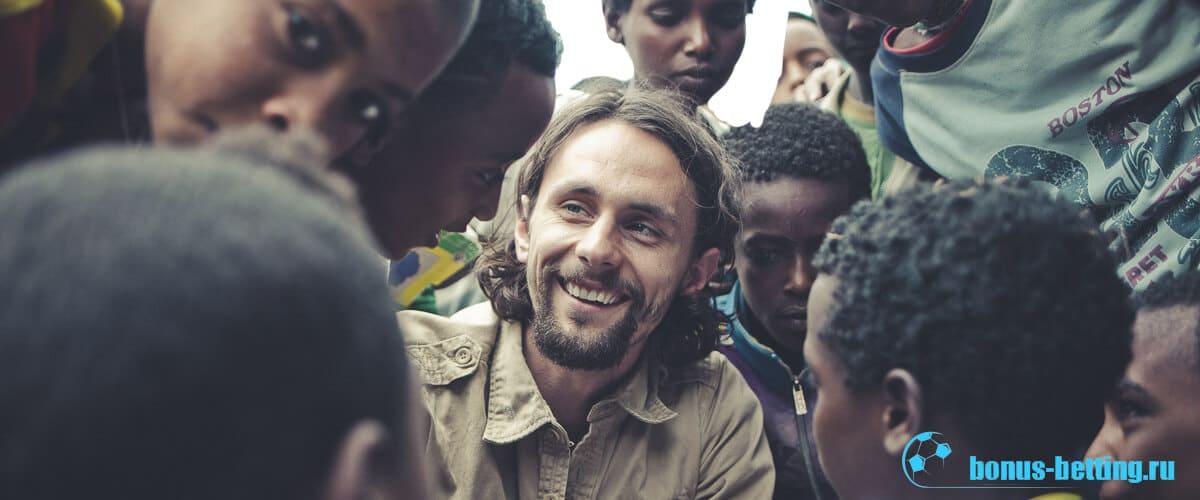 Невен Суботич в Эфиопии