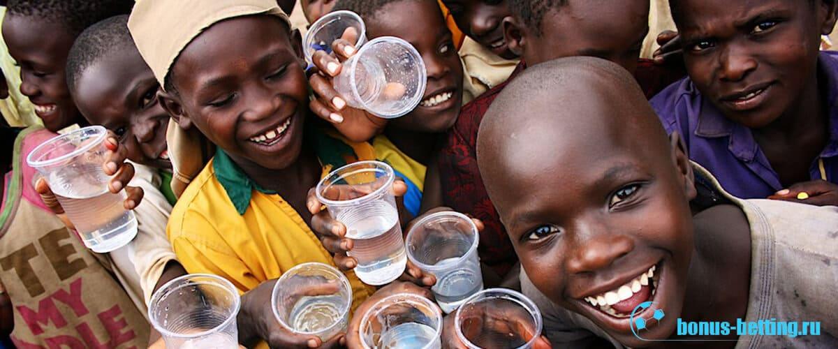 вода в Африке