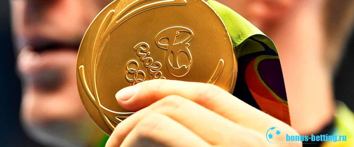 вес олимпийской медали