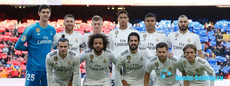 Состав Реал Мадрид 2019-202