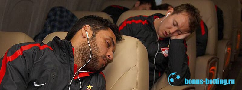 сон и футбол