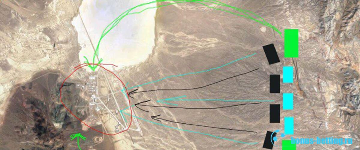 План штурма Зоны 51