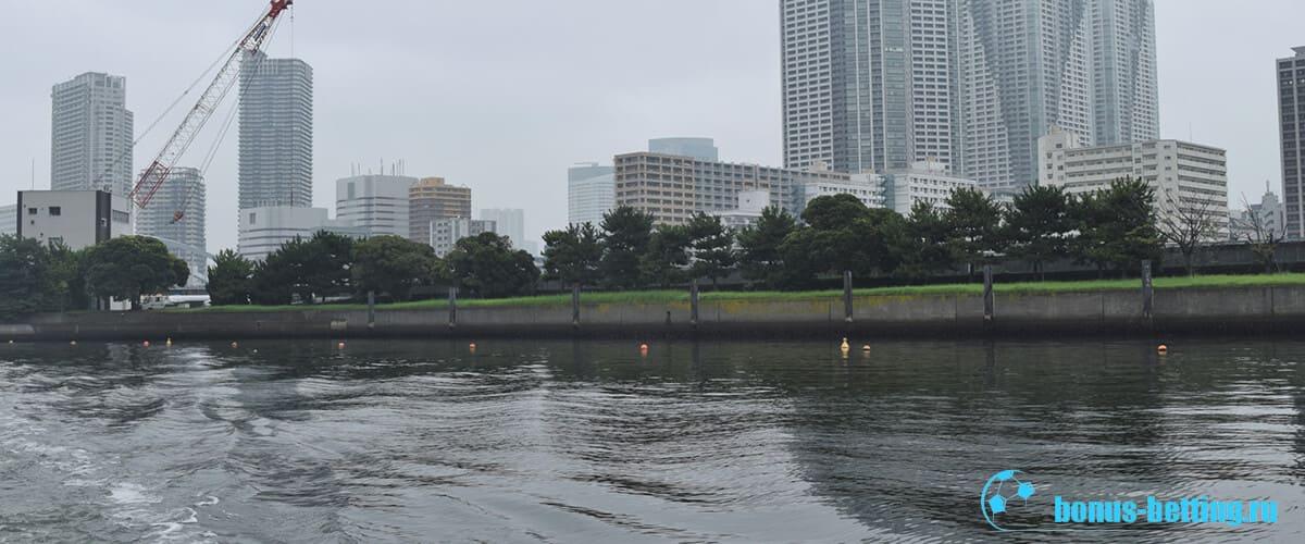 Грязная вода в Токио