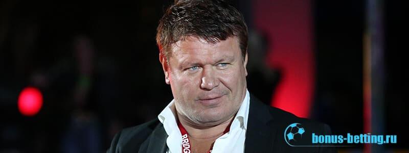 Экс-чемпион UFC Олег Тактаров