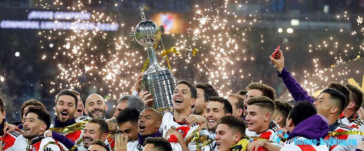 победители кубка либертадорес