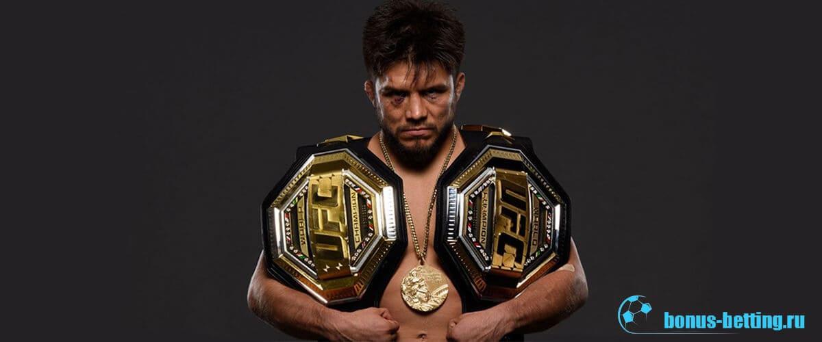 Сехудо Генри чемпион UFC