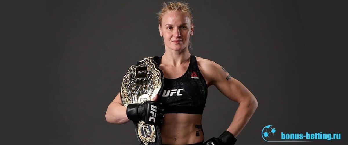 Валентина Шевченко UFC