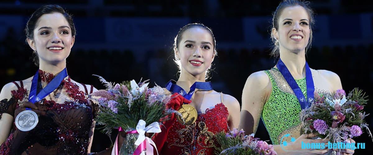фигуристки олимпиада победители