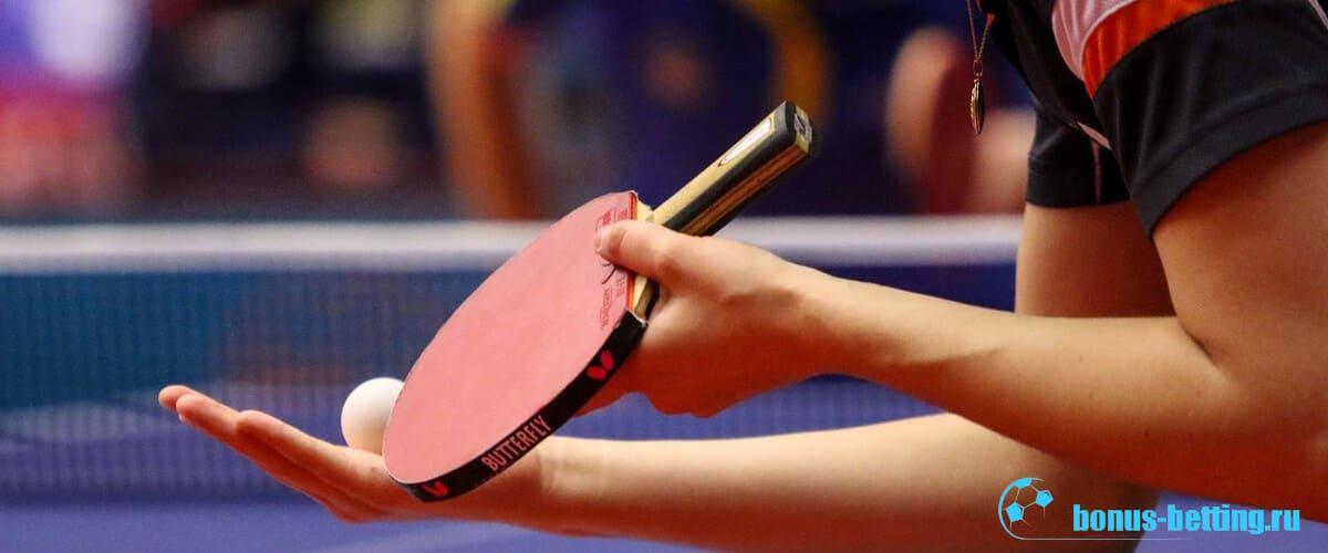 Парный настольный теннис