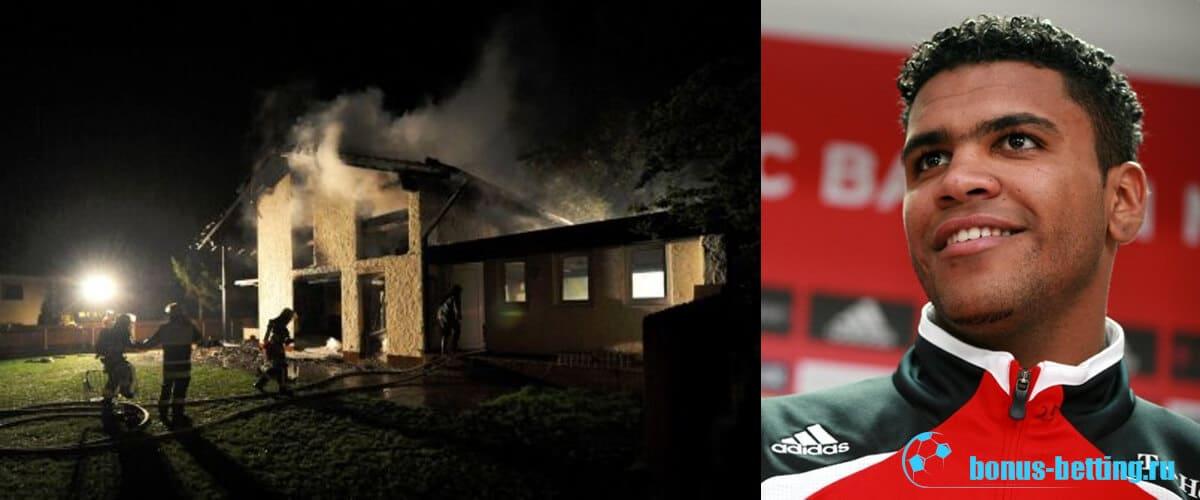 пожар Брено Боржес