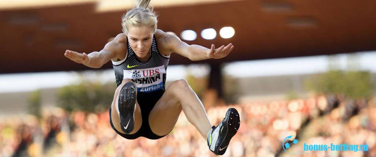 прыжки легкая атлетика