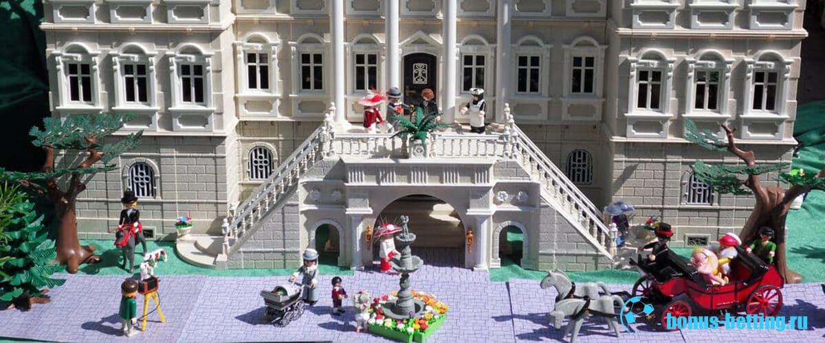 Джузеппе Рейна и Lego