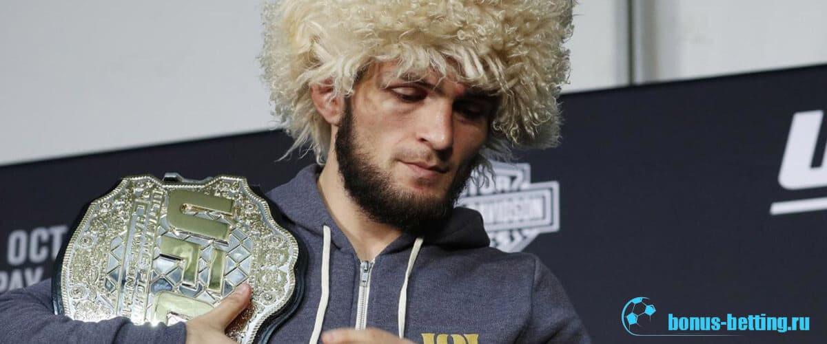 Хабиб Нурмагомедов в рейтинге UFC