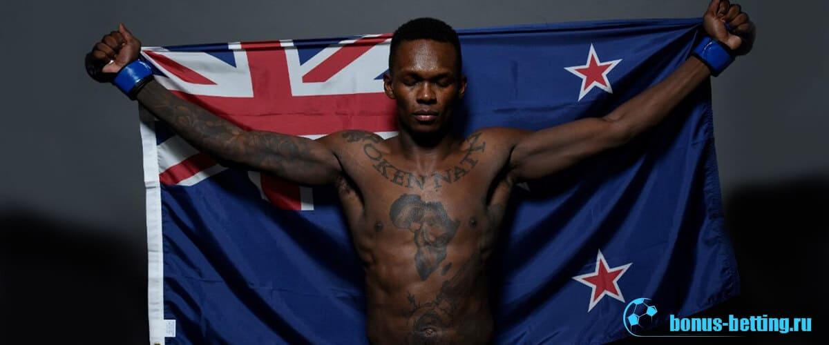 Исраэль Адесанья UFC 243