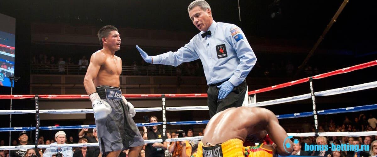Судья в боксе