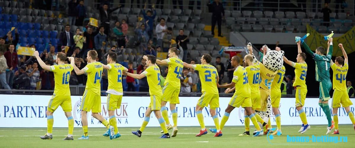 Манчестер Юнайтед – Астана 19 09