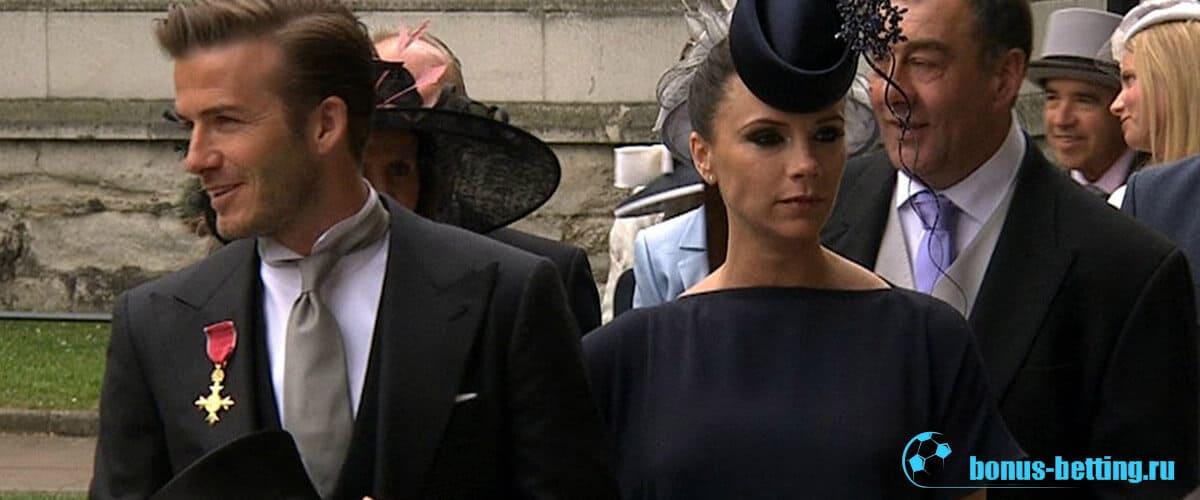 бэкхем на свадьбе принца