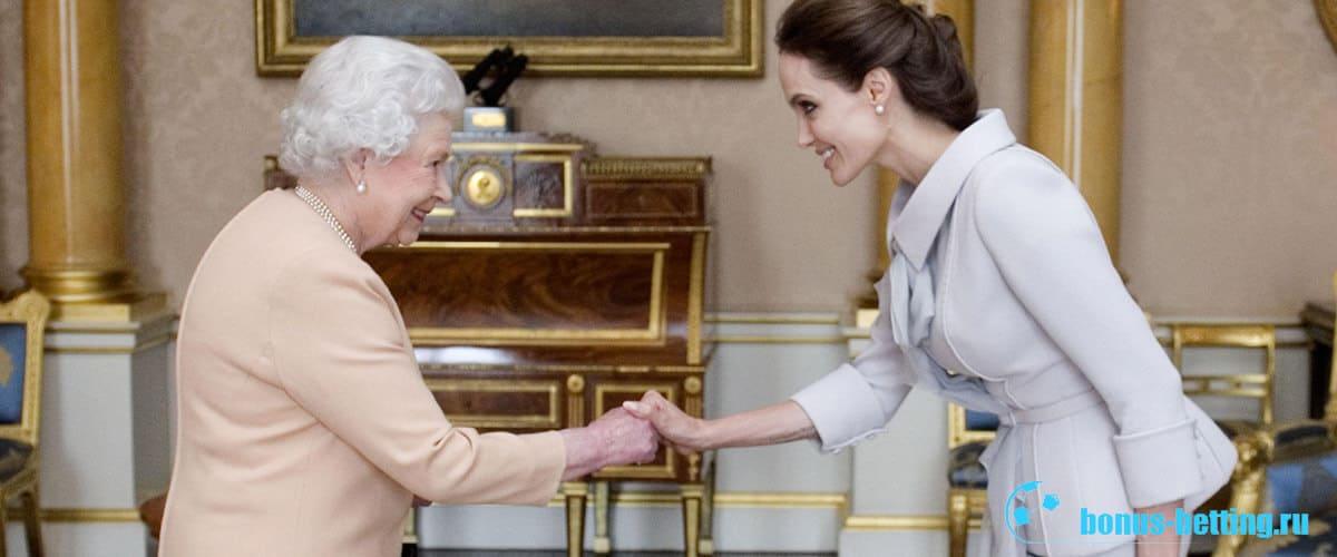 джоли дама великобритании