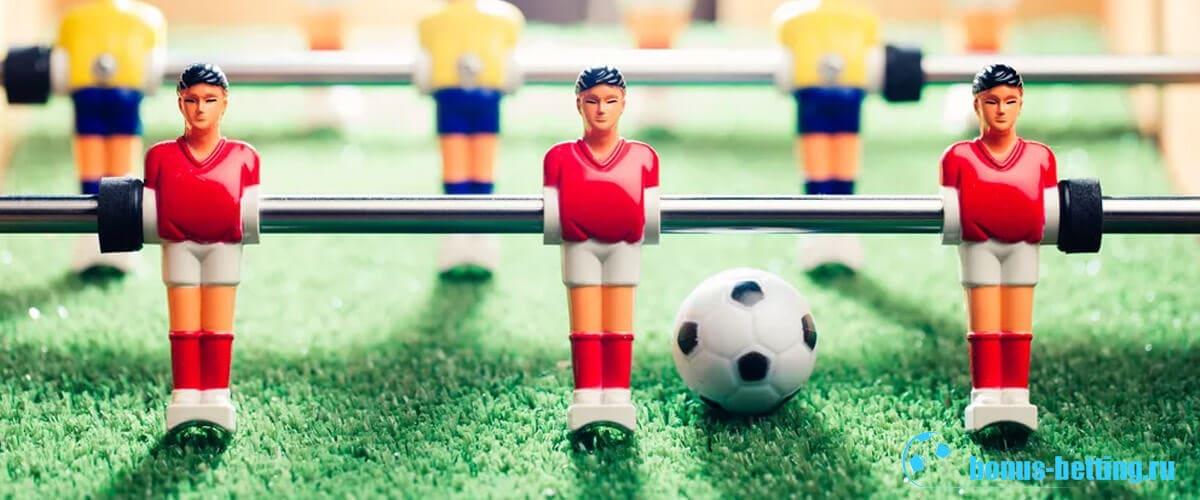 Настольный футбол кикер: правила игры