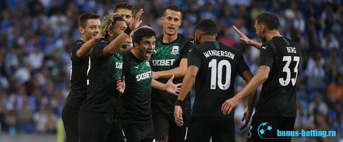краснодар в лиге европы 2019 2020