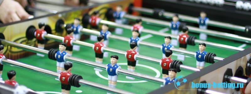 Настольный футбол кикер: правила