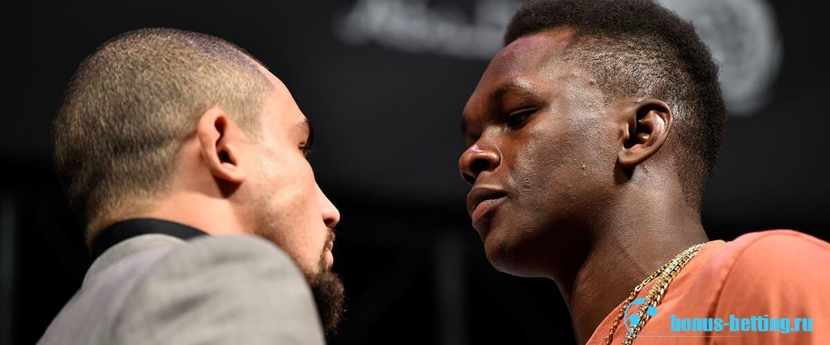 Уиттакер-Исраэль UFC 243