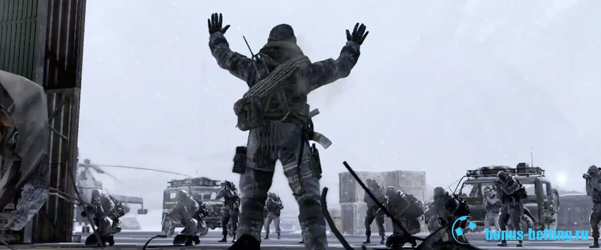 Call of Duty Modern Warfare 2 россия