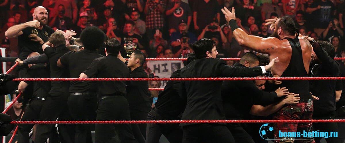 Фьюри WWE
