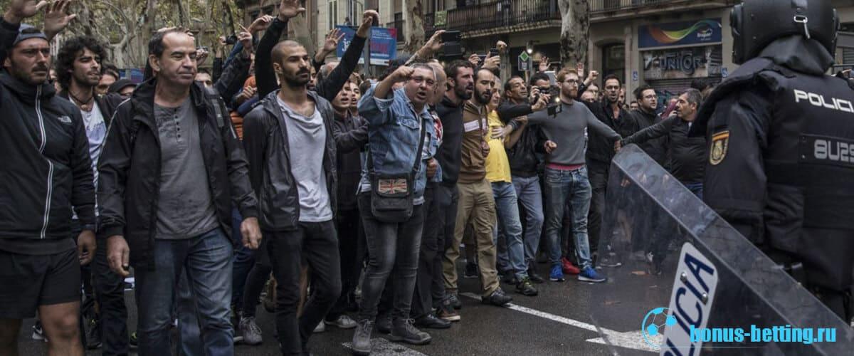 Протесты Испании