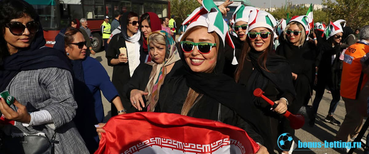 женщины на стадионах ирана
