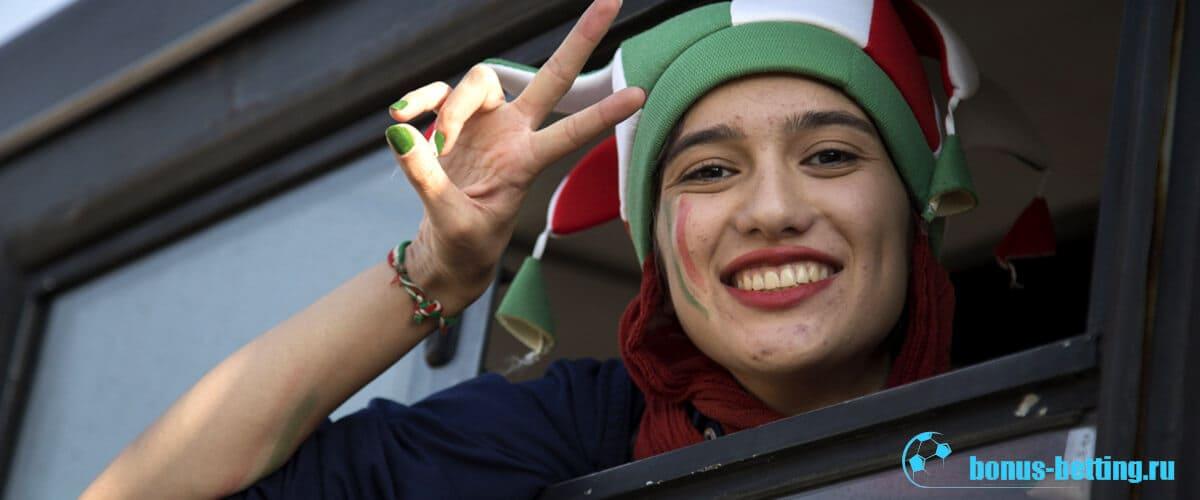 женщины иран футбол